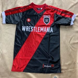 Authentic WWE Wrestle Mania 2015 Jersey